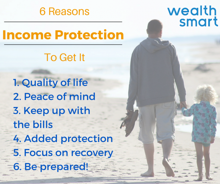 6 reasons for income protection