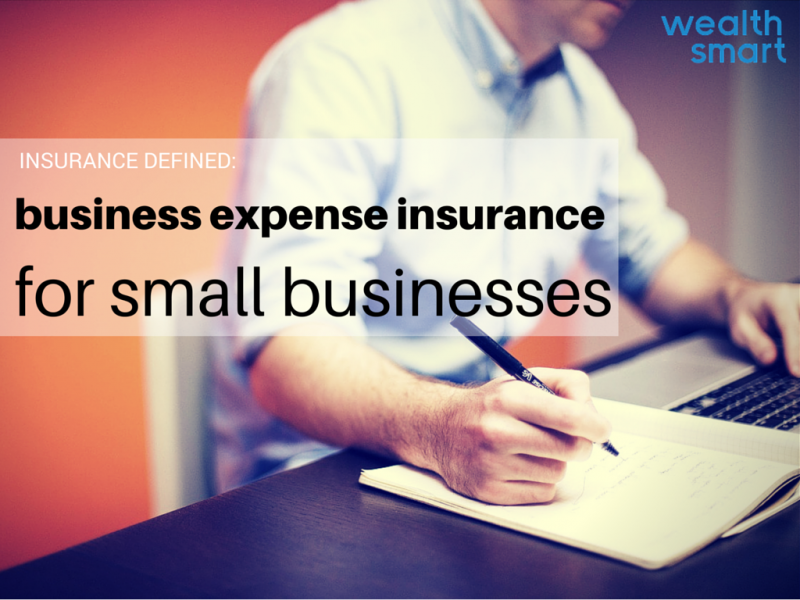 business expenses insurance graphic